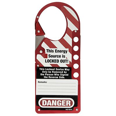 Master Lock Master™ Snap-On Hasp 427