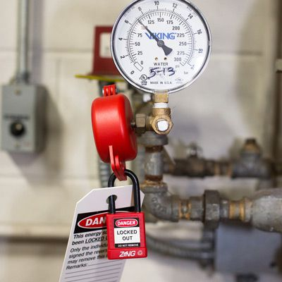 Zing® RecycLockout Gate Valve Lockout