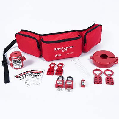 Zing® RecycLockout Lockout Belt Pack Kit