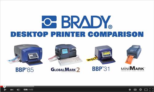 Brady Printer Video
