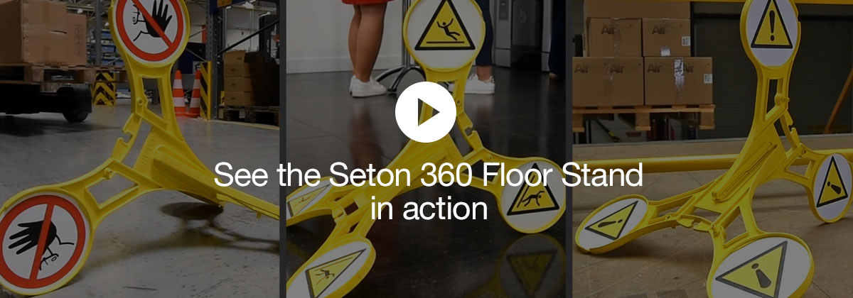 Discover the Seton 360 Floor Stand